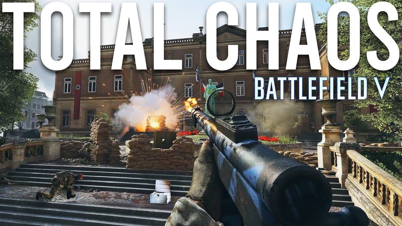 Metro is total Chaos - Battlefield 5