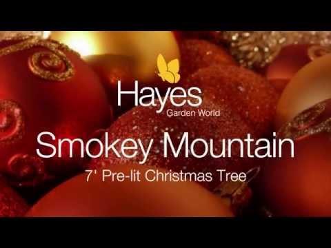 National Tree Smokey Mountain 7 ft Pre lit