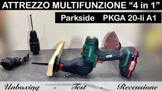 Piastrelle In Legno Florabest : Unboxing utensile multifunzione in parkside pkga a