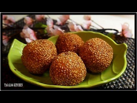 Sesame Seeds Ball ( Pinoy Butse style)