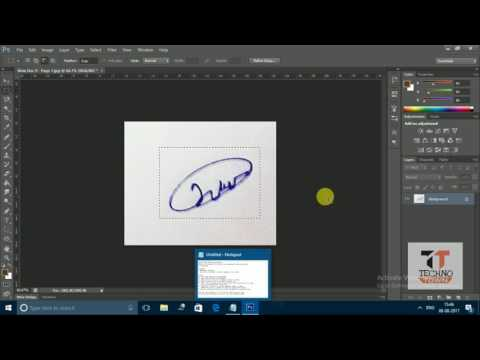 how to copy sign in photoshop