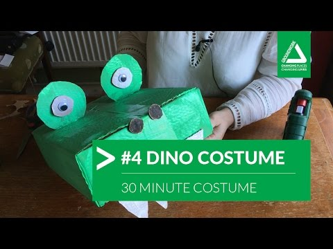 30 Minute Costume Challenge: #4 Dinosaur / Crocodile
