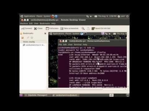 How to setup remote desktop with vnc on Ubuntu