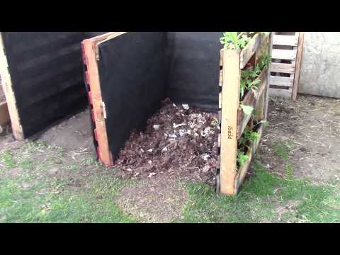 Making a Pallet Composter With Bonus Side Garden (QTT #6)