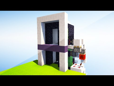 Realistic Piston Elevator - Redstone Tutorial