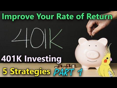 401K Investing Basics 📈 401K Investing Strategies  (Part 1)