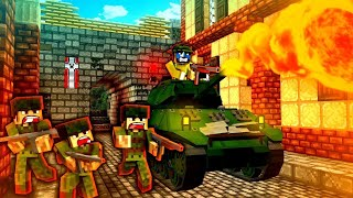 Minecraft WW2 - AA BATTERY - S5E8 (Heroes and Generals Roleplay)