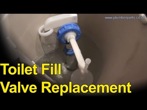 TOILET FILL VALVE REPLACEMENT - Plumbing Tips
