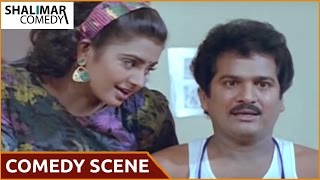 Vaddu Bava Tappu Movie || Rajendra Prasad And Indraja Comedy Scene || Rajendra Prasad