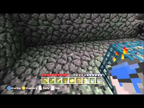 Minecraft Xbox 360: Ep:16- How To Make a Mob Spawner Trap!!