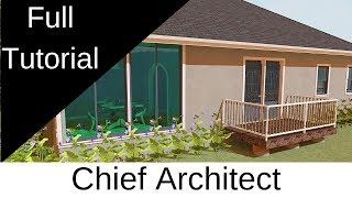 Chief Architect Premier X10 basic functions