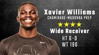 Xavier Williams highlights | Alabama 4-star signee from Chaminade-Madonna