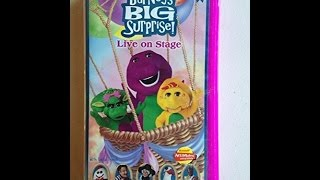Closing To Barney Big Surprise 2000 VHS (Better Verison)