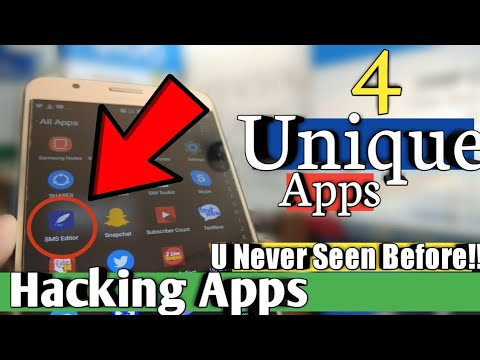 4 UNIQUE Hacking Apps You Never Seen Before!