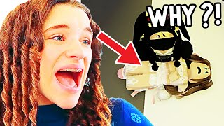 SABRE RAN AWAY FROM HOME *meets kidnapper* (funny Role Play Gaming) w/ The Norris Nuts