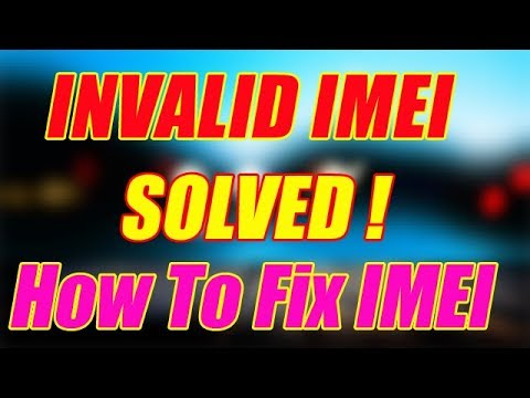 How to Fix/Repair Invalid IMEI Number Error in Android Phones | Without Root(100% working)