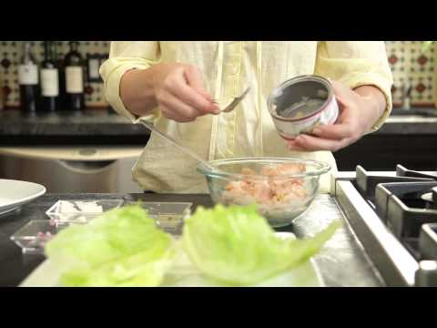 Bumble Bee Heritage Pack Recipe: Classic Tuna Salad in Lettuce Wraps