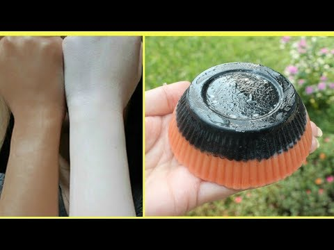 How to Make Charcoal and Rose Clay Soap Bar at Home for Clear and Bright Skin
