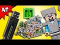 Lego Minecraft The MOUNTAIN CAVE 21137 Speed Build