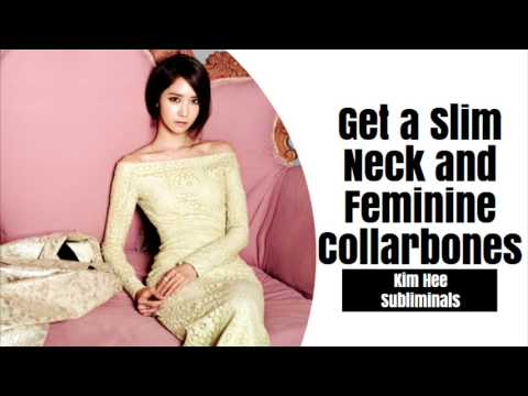 Get a Slim Neck and Feminine Collarbones