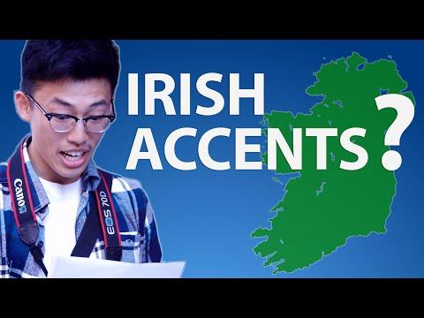 Tourists Attempt The Irish Accent