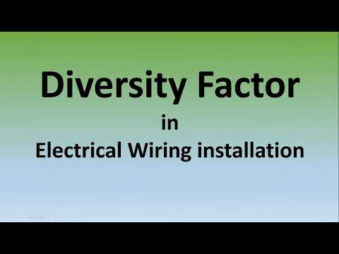 What is Diversity Factor?