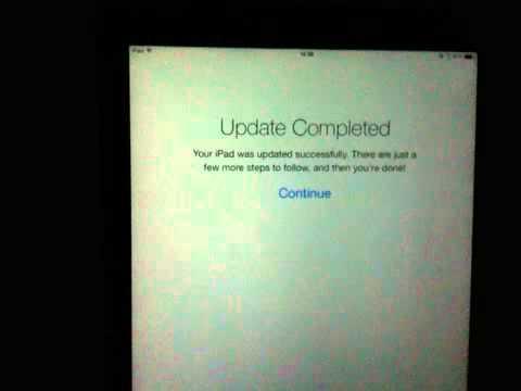 iOS 7 on New iPad (3rd Generation)