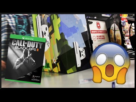 WHEN BLACK OPS 2 IS ON XBOX ONE... - BUYING AND UNBOXING THE NEW XBOX ONE S! - VLOG