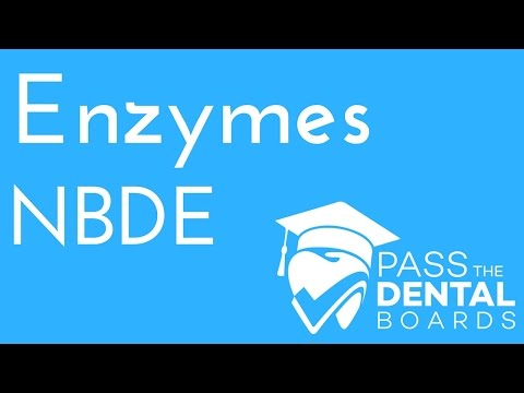 Enzymes - Biochemistry - NBDE