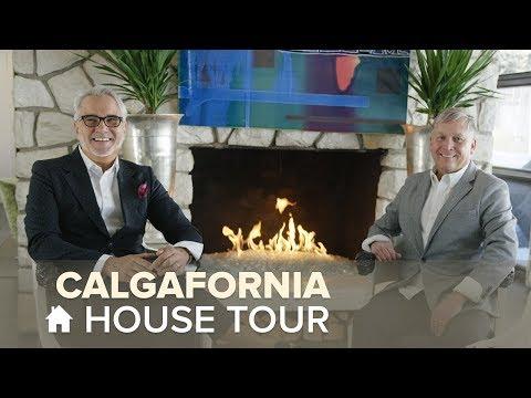 Touring a Luxurious Calgary Home | House Tours