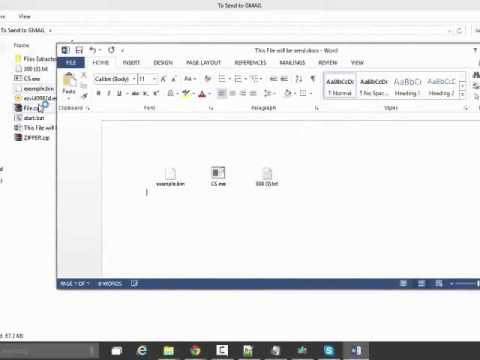 How to send exe,zip,bin files through gmail - Jahanxb Khan