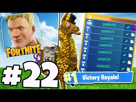 Completing The *WORLDS HARDEST* Fortnite Challenge = INSANE REWARD! - Fortnite IOS / Android #22