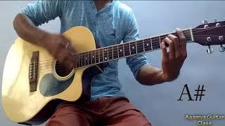 Tera Yaar Hoon Main Guitar Chords Lesson Strumming Pattern and progressions