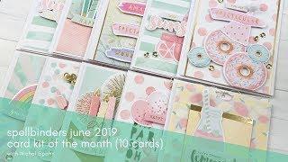 Spellbinders / Small Die of the Month Club Kit / June 2019