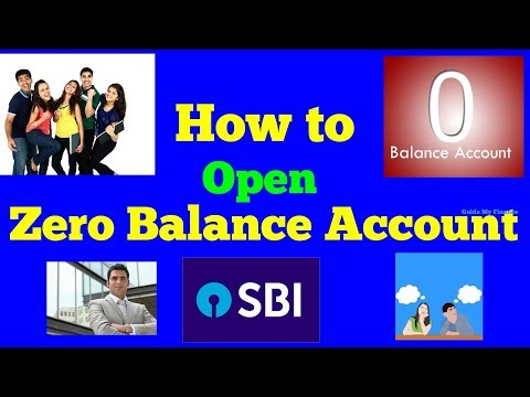 How to Open Zero Balance Account in SBI | Details Feature of Basic Savings Account in SBI
