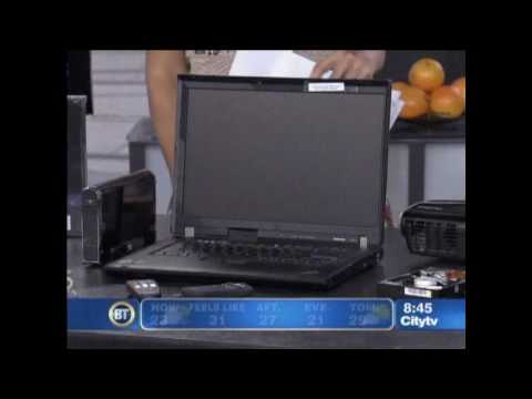 Computer Expert on Breakfast Television
