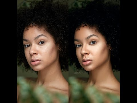 Photoshop CC Tutorial: Beauty Retouching    Skin Retouching and Color Grading
