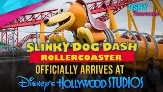 Slinky Dog Dash Coaster Ride Vehicle Officially Arrives at WDW - Disney News - 8/30/17
