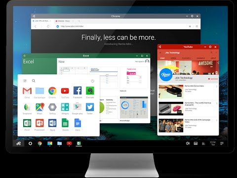 REMIX OS 2.0 = ANDROID 5.1.1 -   ON many TABLET LAPTOP OR PC  - 2016
