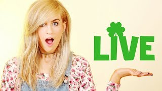 IRISH Girl live streams for the first time