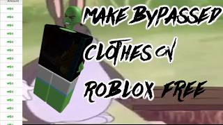 ROBLOX | SHIRT/TSHIRT BYPASS TUTORIAL [BYPASS ANY WORDS] [2018]