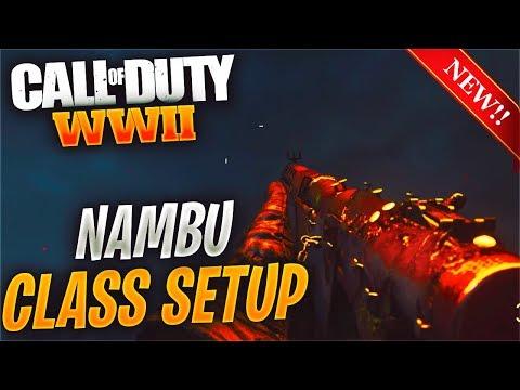 *NEW* NAMBU TYPE-2 BEST CLASS SETUP MAKES THIS THE BEST SMG IN COD WW2! (BEST COD WWII NAMBU CLASS)