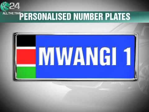 Coded Vehicle Plates for Kenyan Governors
