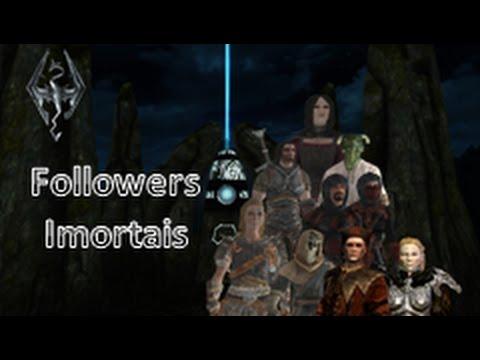 Skyrim dicas- Followers Imortais