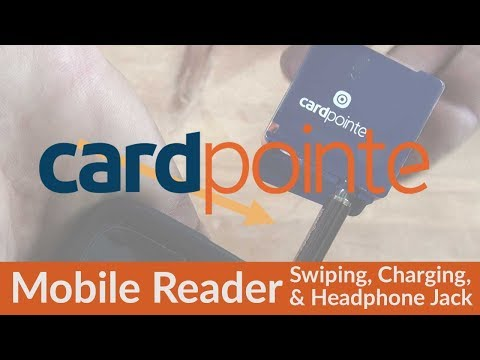 CardPointe Mobile Device -  Swiping Charging AND Using Earphone Extension For Case