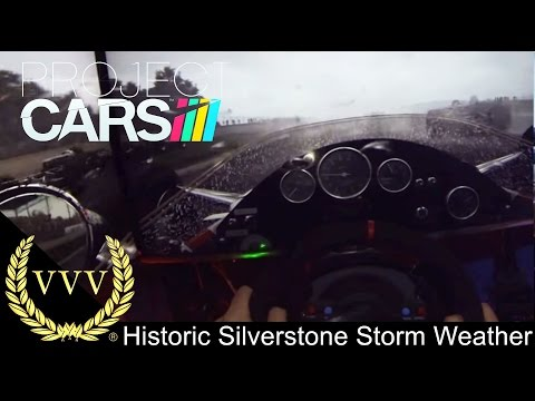 Project Cars Historic Silverstone Storm Weather