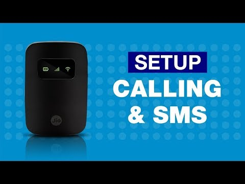 How To Make Calls and SMS From Jiofi Device Through Laptop Or PC