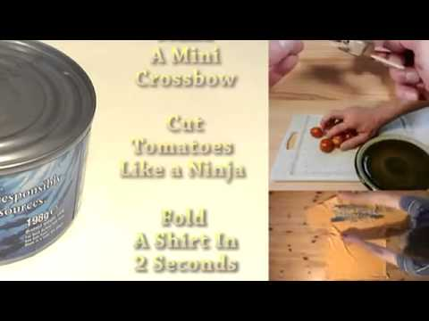 How To Make A Tuna Can Candle - How To Make A Candle Tutorial 2015