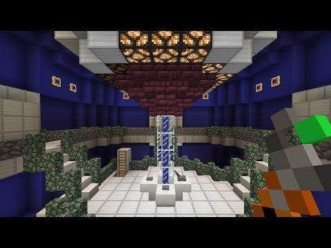 Minecraft PE Tardis with sounds and wireless redstone cringe intro