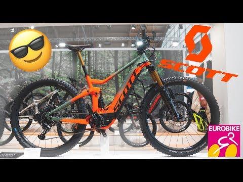 New SCOTT Bikes 2019  (Genius Tuned, Genius, eRide, Spark, Contessa) - Eurobike 2018 [4K]